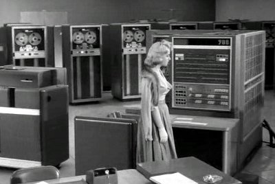 Starring the Computer - IBM 70...